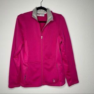Spyder Pink Endure Full Zip Jacket Woman's Size L
